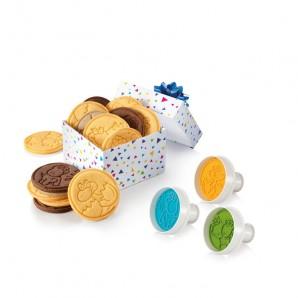 Set galletas calabaza Jack O'Lantern