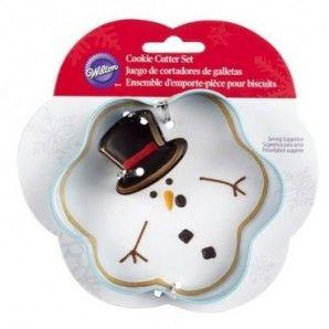 Molde chocolate navideño