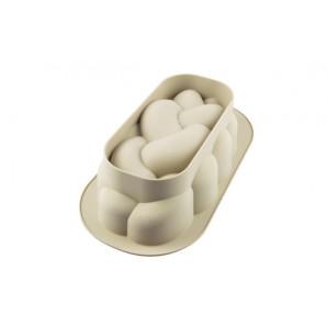 Molde para huevo duro oso y elefante