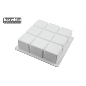 Contenedor de helados rectangular