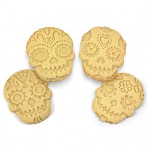 sello galletas snowflake navidad