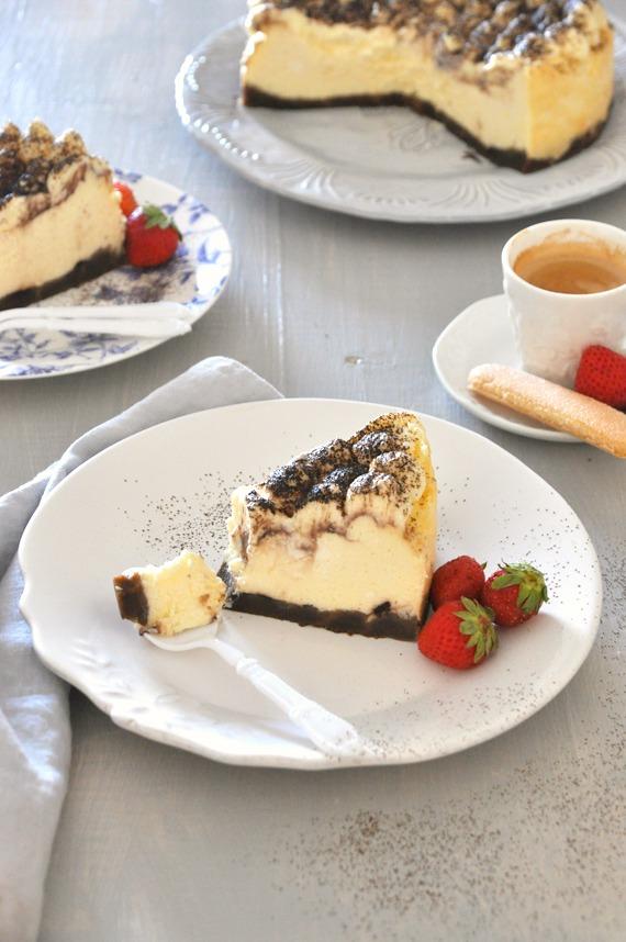 receta cheesecake de tiramisu