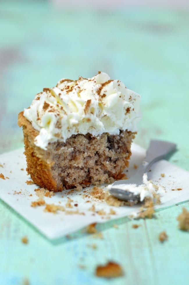 cupcake de canela