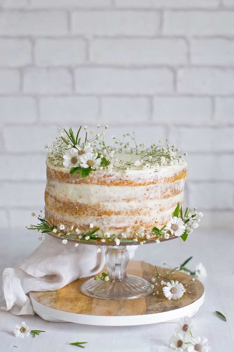tarta de zanahorias naked cake central