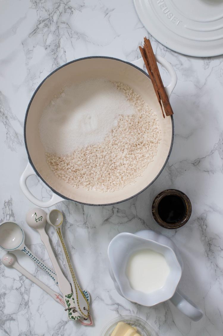 arroz con leche al horno comfort food