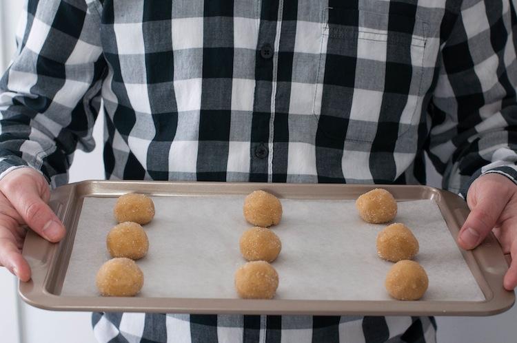 bandeja con galletas