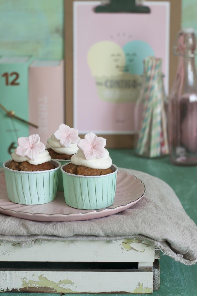 muffins de platano y queso
