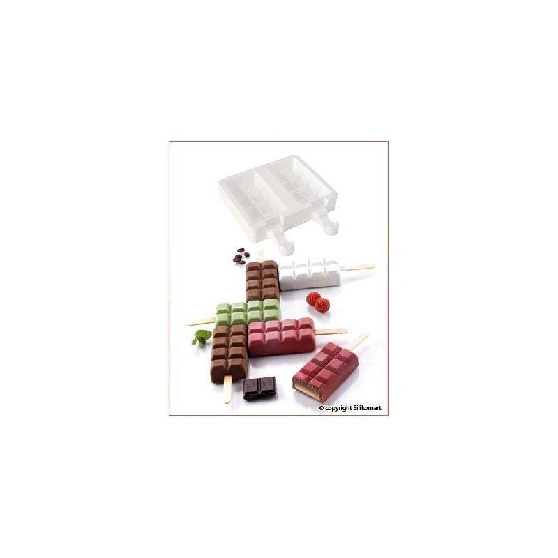 Moldes helado Tableta (4ud)