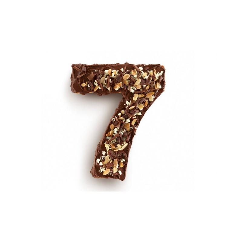 Molde Tarta Número Siete Para Horno