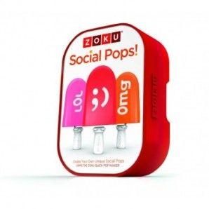 Set Social Pops de Zoku (redes sociales)