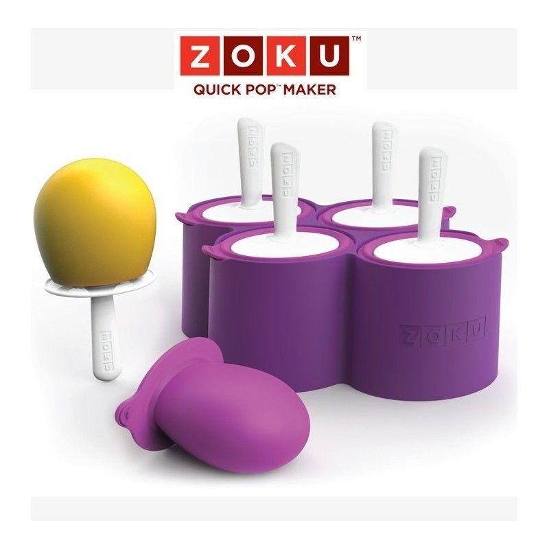 Molde para helados zoku round pops Zoku