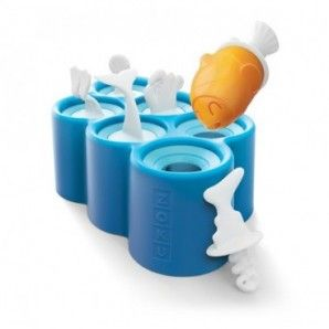 Fish pop moldes Zoku