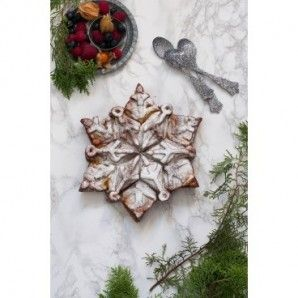 Molde bundt snowflake Nordic Ware