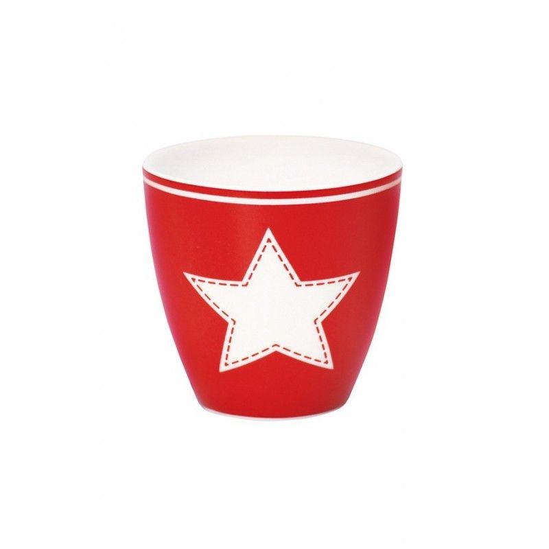 Greengate Espressotassen taza greengate espresso estrella blanca