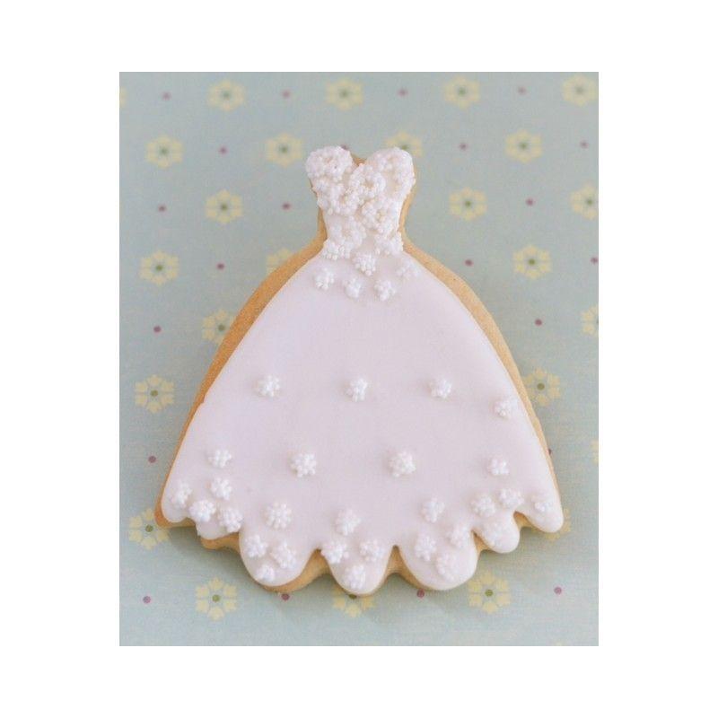 cortador galletas vestido novia patricia arribalzaga