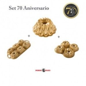 Set bundts 70 Aniversario