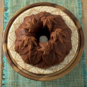 Molde bundt Harvest Leaves