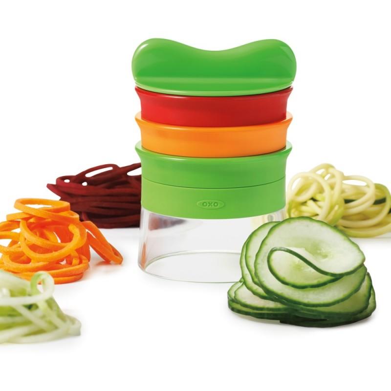Cortador verduras espiral 3 cuchillas Espirilizador OXO