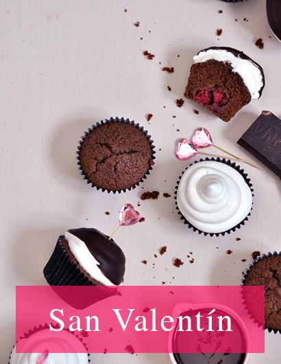 Moldes y cortadores de galletas de San Valentin