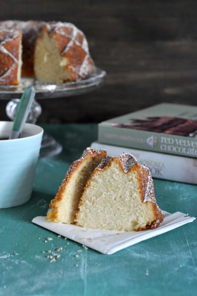 bizcocho de limon bundt cake jubilee porcion