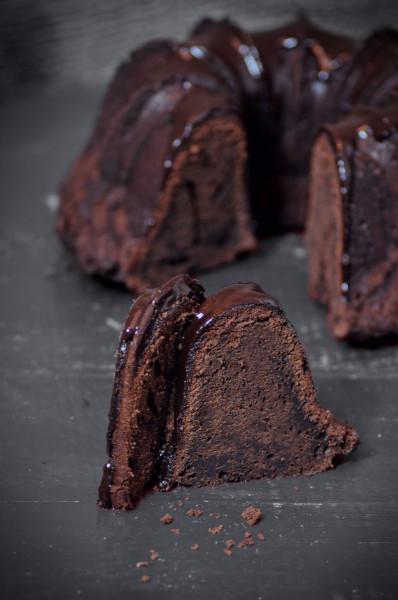 bundt cake cola cao porcion