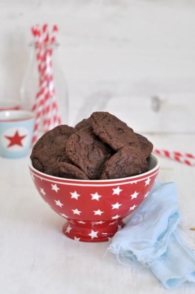 Cookies de chocolate y nutella