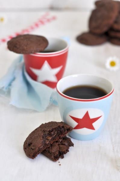 galletas de chocolate y nutella