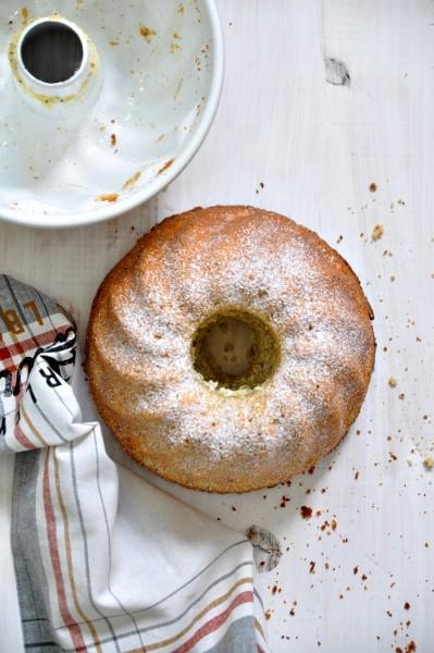 bundt cake de naranja y amapola