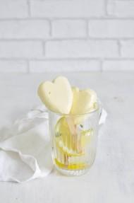 Helado cremoso de limón