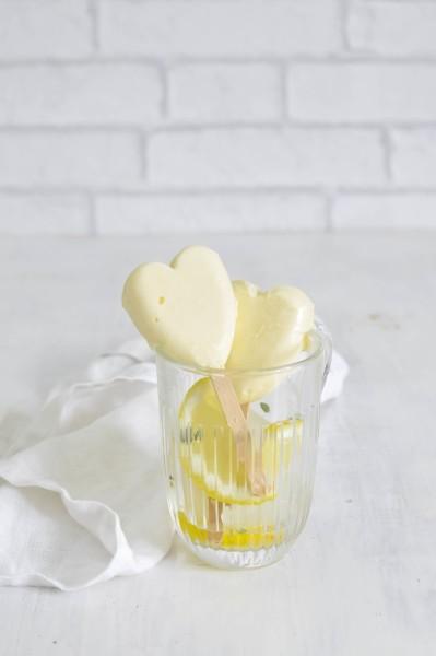 polos cremosos de limon corazon