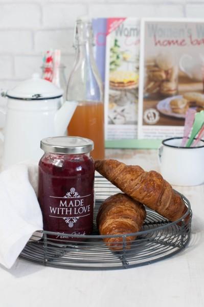 mermelada fresones home made para desayunar