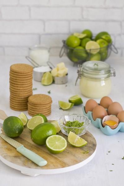 ingredientes tarta de lima