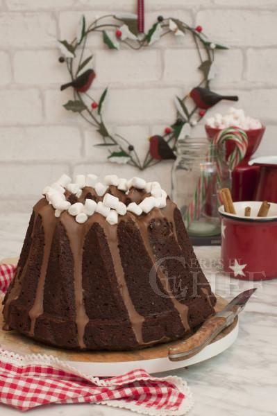 bundt-cake-chocolate-caliente