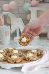Galletas de tarta de zanahoria (Carrot cake cookies)