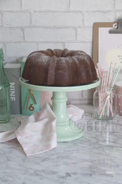 bundt cake platano y lotus