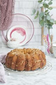 Monkey bread de nutella y avellanas