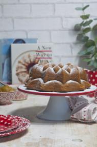 Bundt cake de sirope de arce (Maple syrup bundt cake)