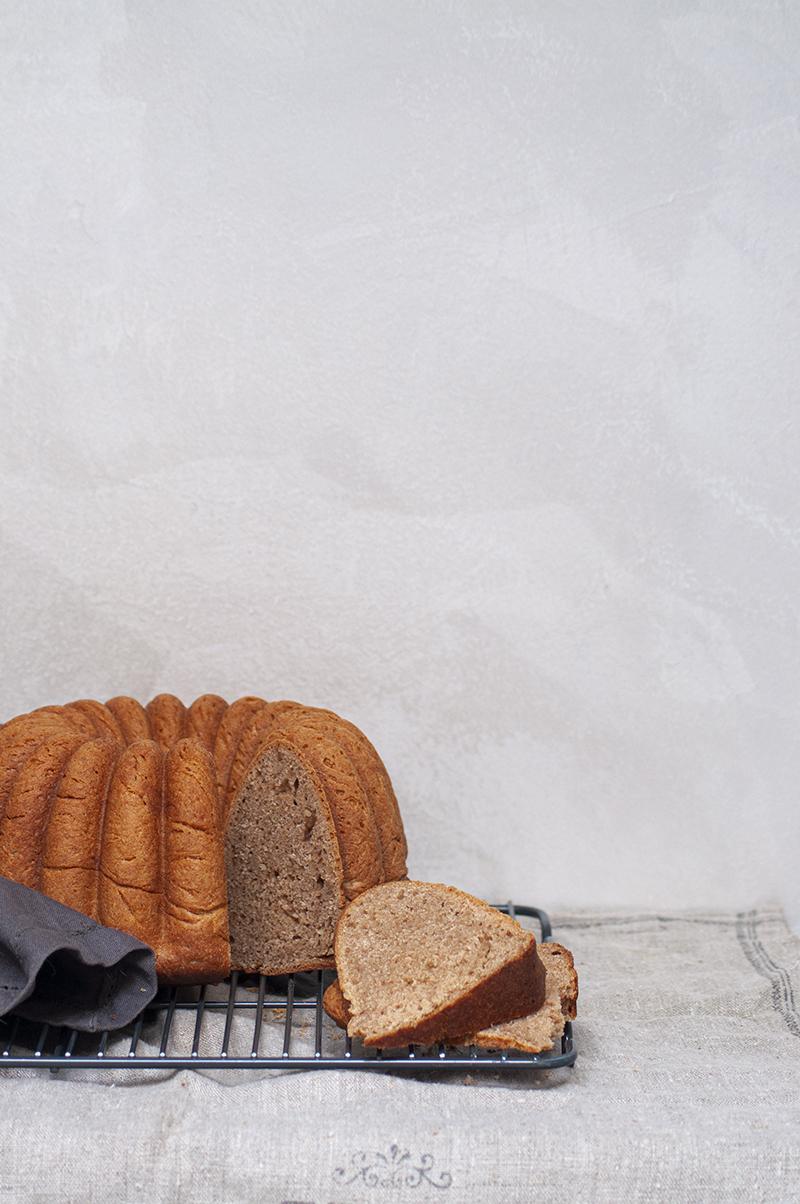 pan de espelta integral cortado