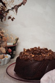 Bundt cake de Ferrero Rocher