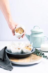 Muffins integrales de calabaza